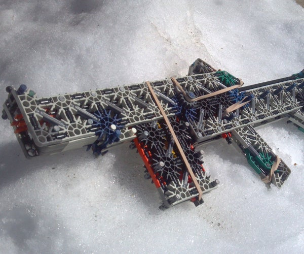 Knex Rifle: Aggression Instructions