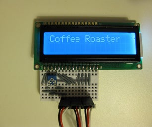 A Fully Automatic Coffee Bean Roaster (Arduino)