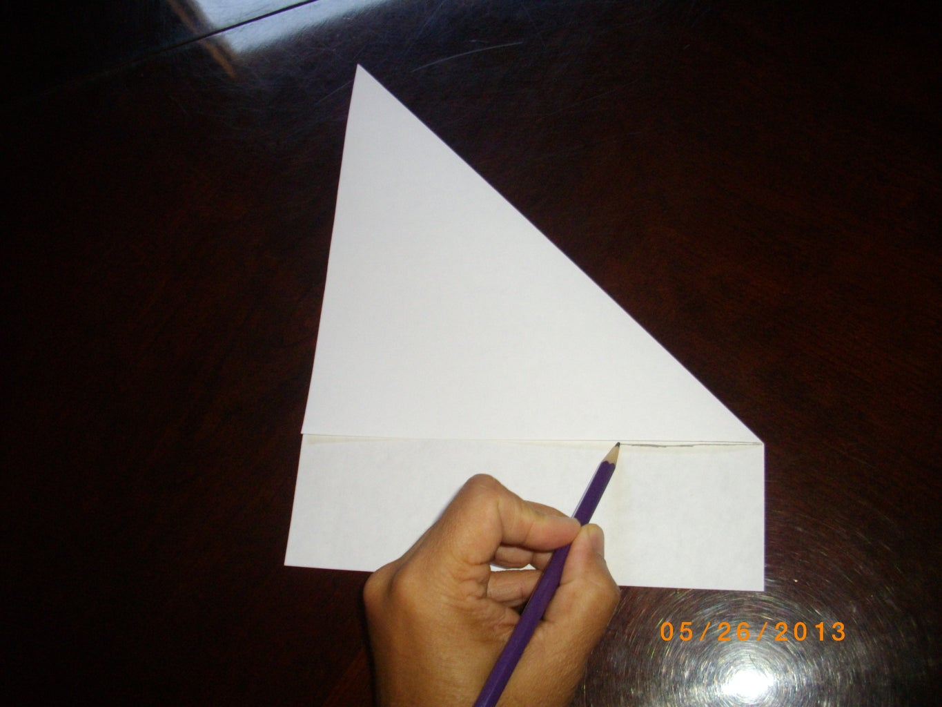 Making a Square Piece of Paper