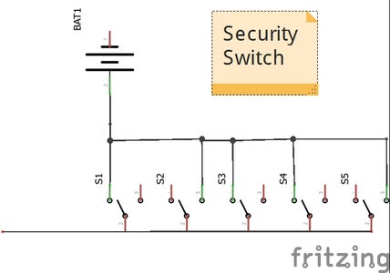 Wire Security Switch