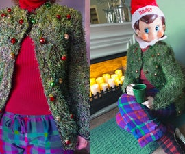 Ch, Ch, Ch, Chia Ugly Christmas Sweater