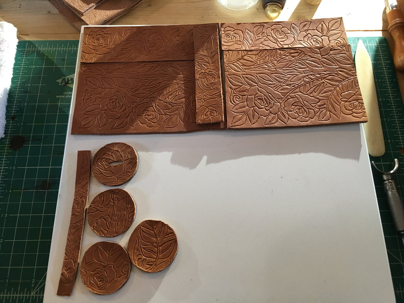 Installing Patterns and Knife Work