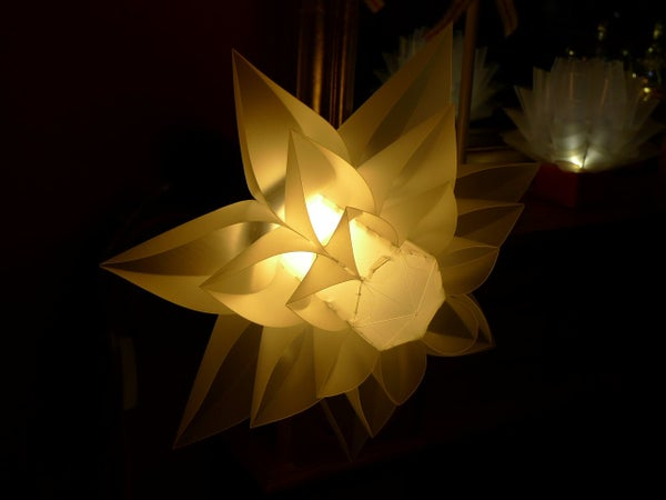 How to Make a Lily Shaped Lamp (Norm 06)