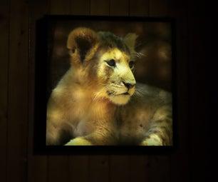 Backlit Frame Lightbox