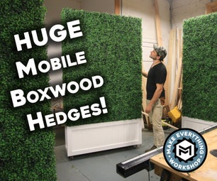 How To: Mobile Boxwood Hedges! (Artificial)