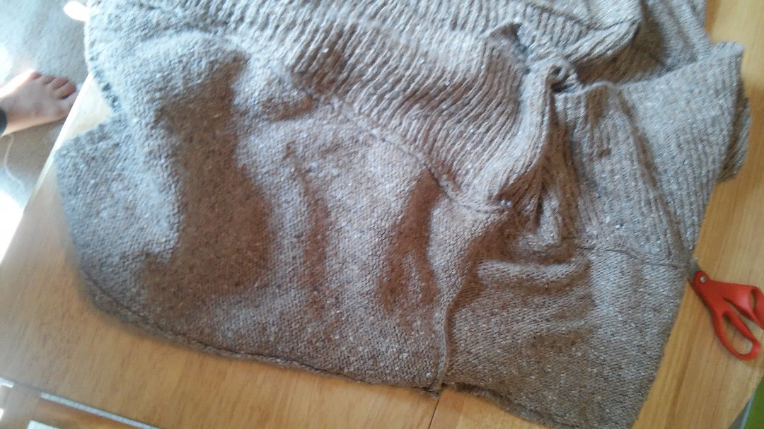 Sew Up Sides of Sweater