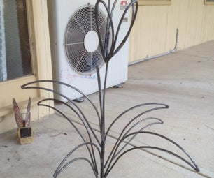 Scrap Metal Flower/plant