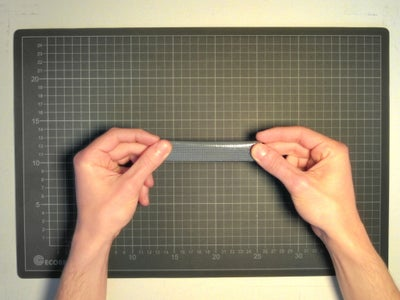 Preliminary Skills: Marking the Middle of a Tape Strip