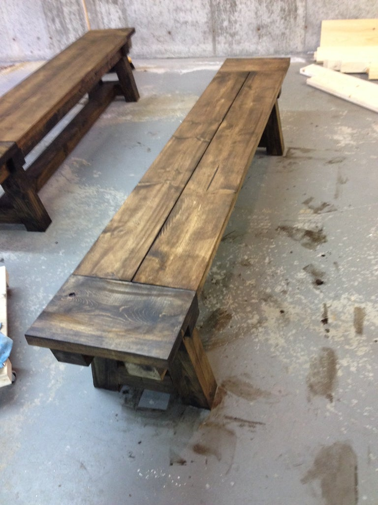 Sand, Stain and Finish