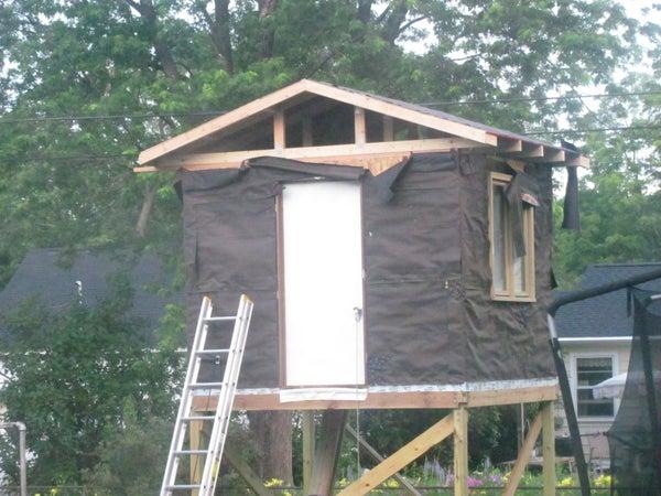 Treeless Treehouse, Summer 2010
