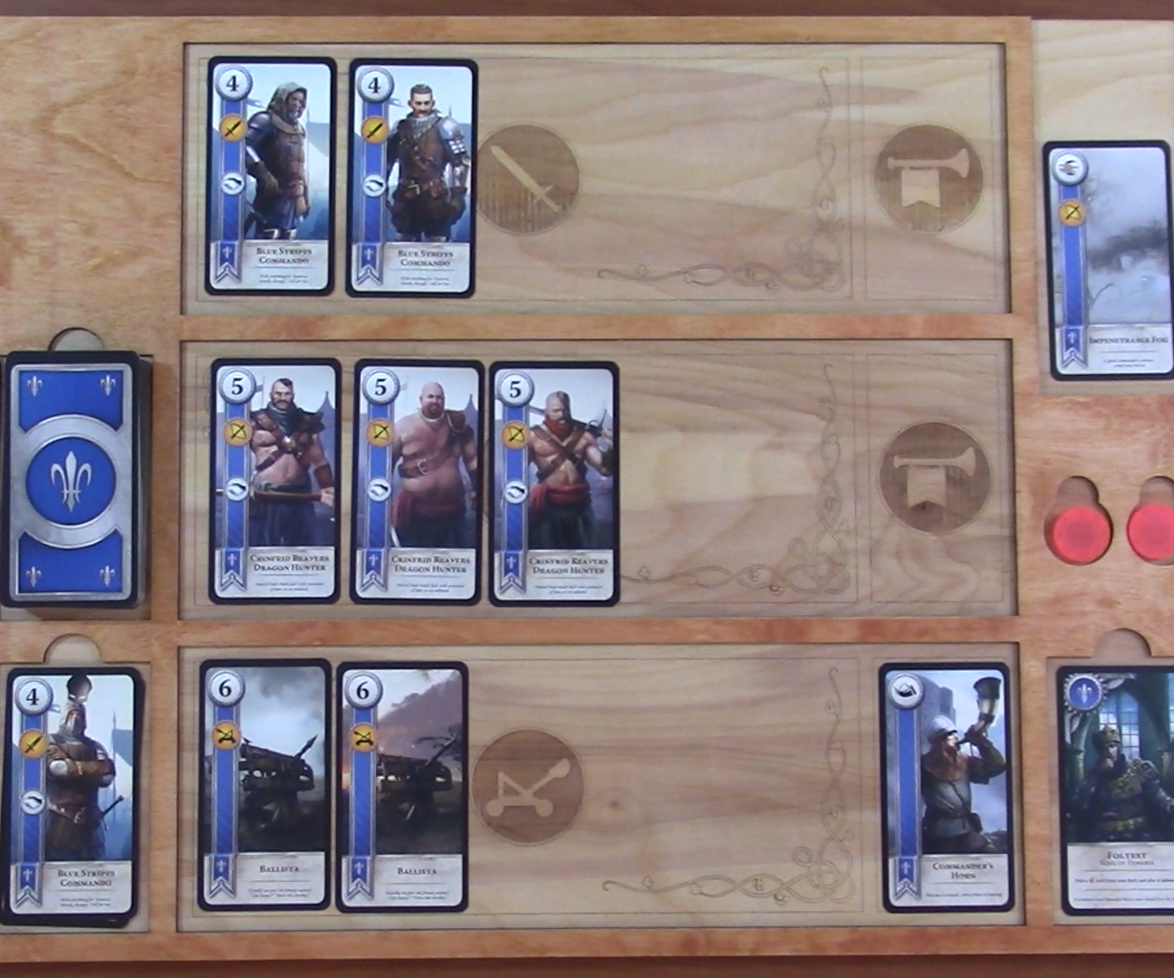 How to Design and Laser Cut a Gwent Board Inspired by Witcher 3