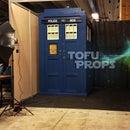 TARDIS DR WHO life size