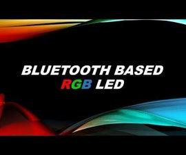 Bluetooth Based RGB Led