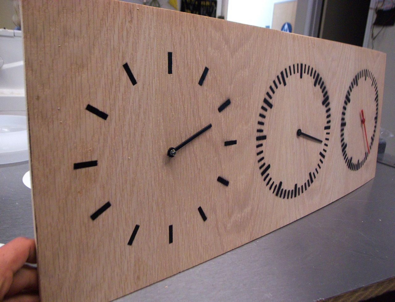 Three Part Clock
