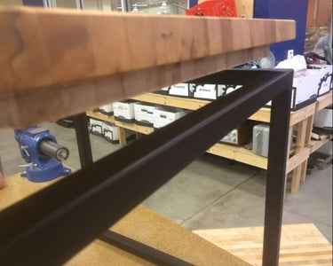 Table Top - Rabbet on the Router Table