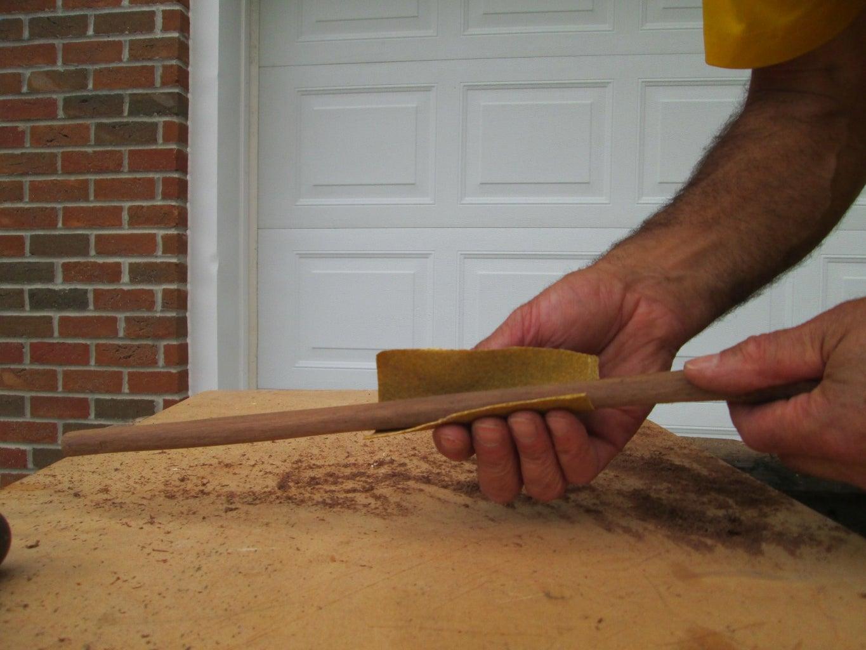 Final Sanding