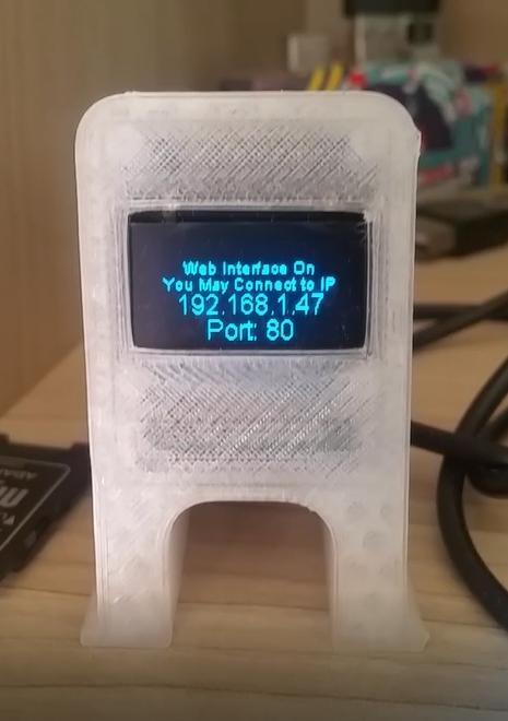 3D Printer Monitor Wemos D1 Mini ESP8266