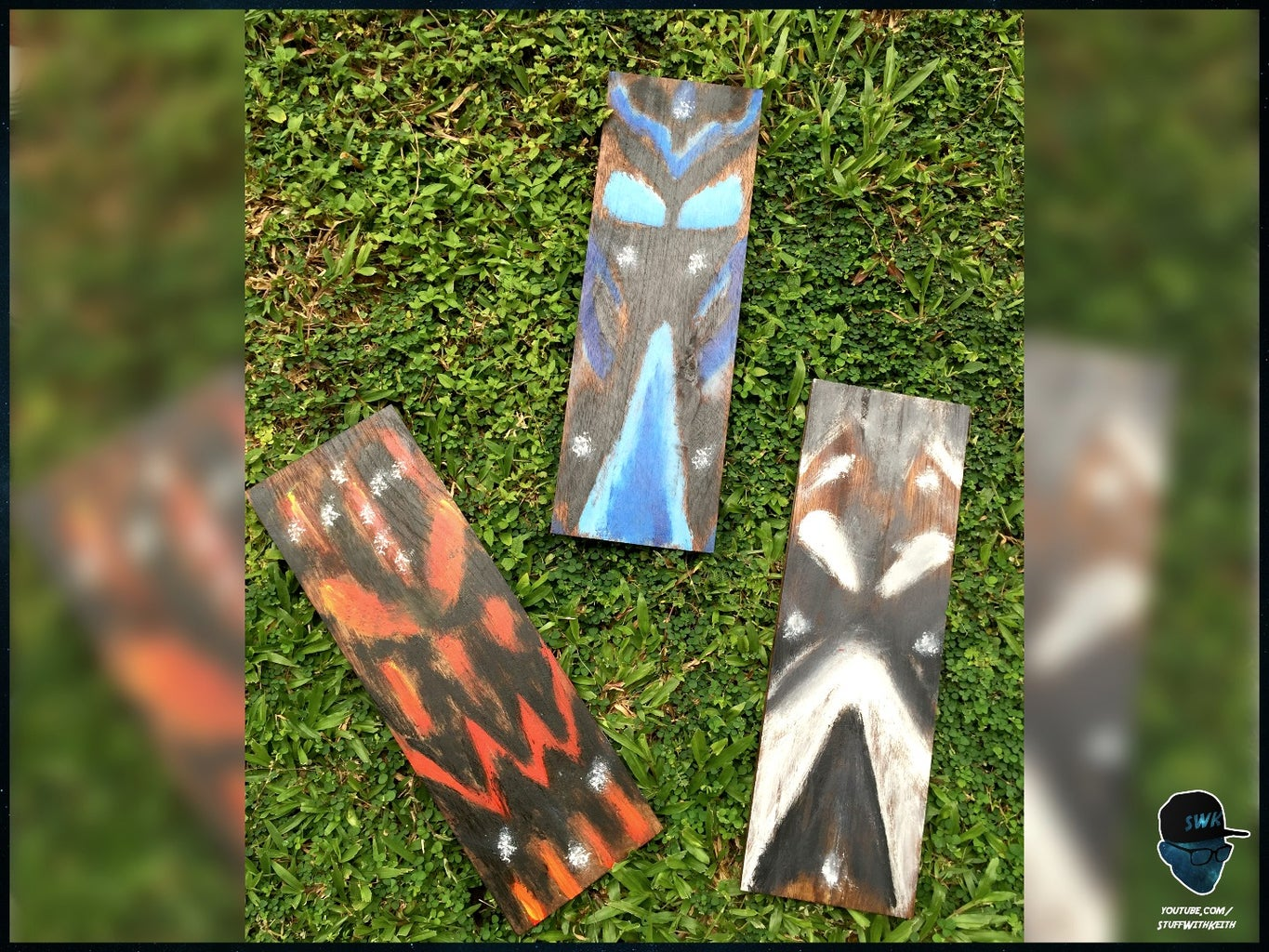 Create Simple Wooden Tribal Masks