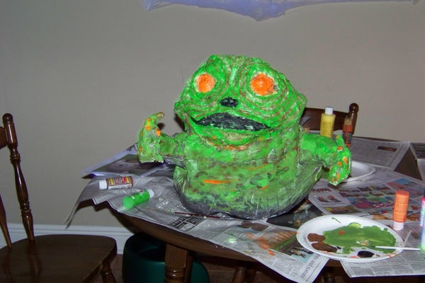 Build a Baby Jabba Slug (rotta)