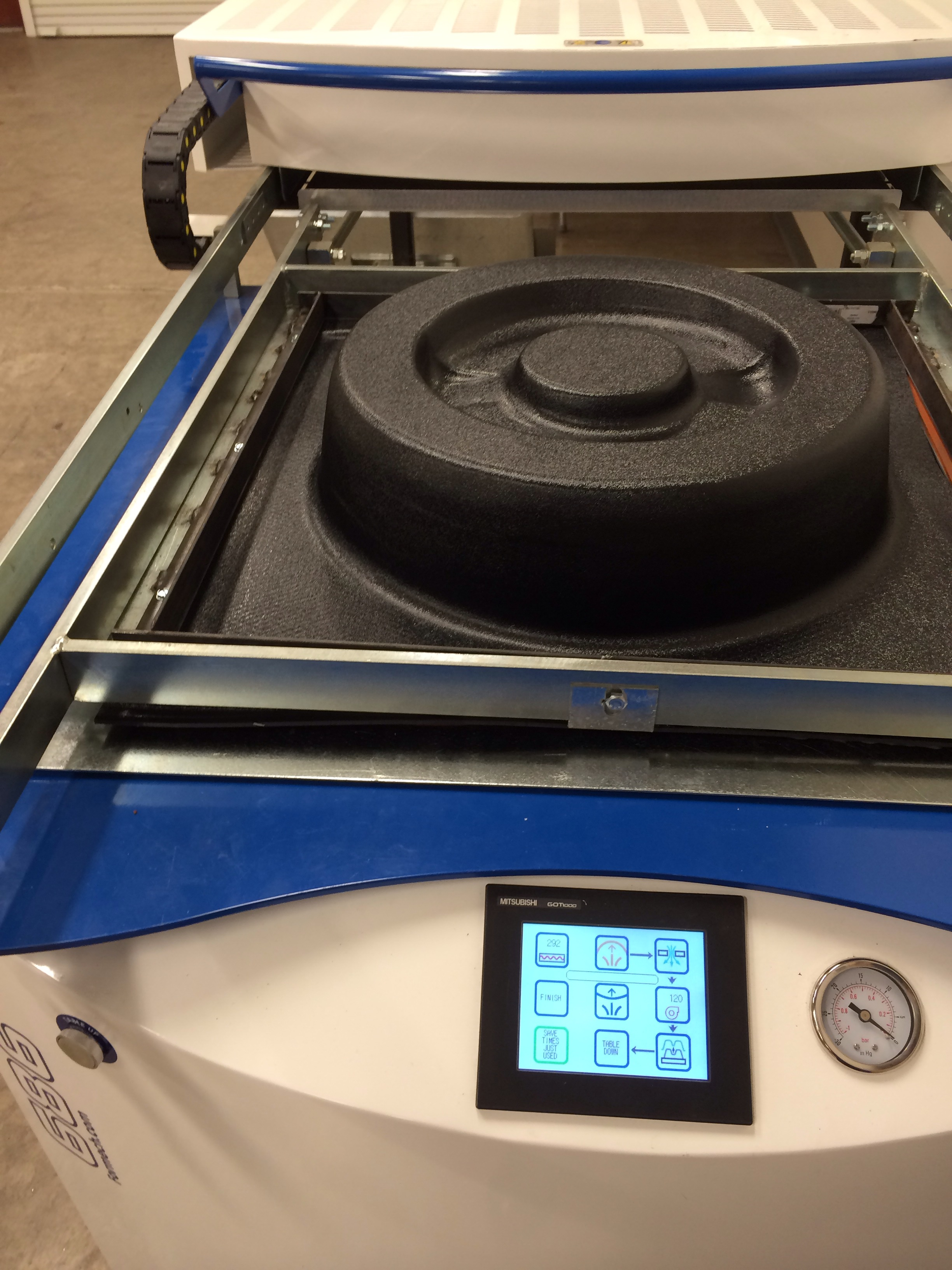 Vacuum Forming A Large Part