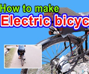 How to Make Electric Bike at Home