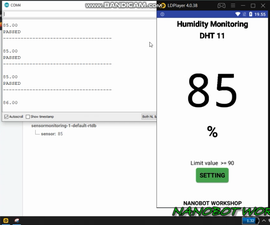 Sensor Monitoring IoT