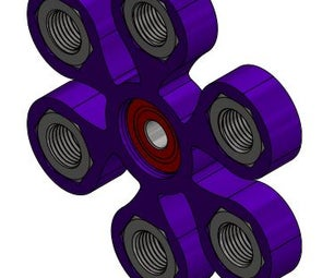 Hex Nut Fidget Spinner