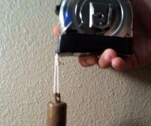 Plumb Bob,tape Measure Reel