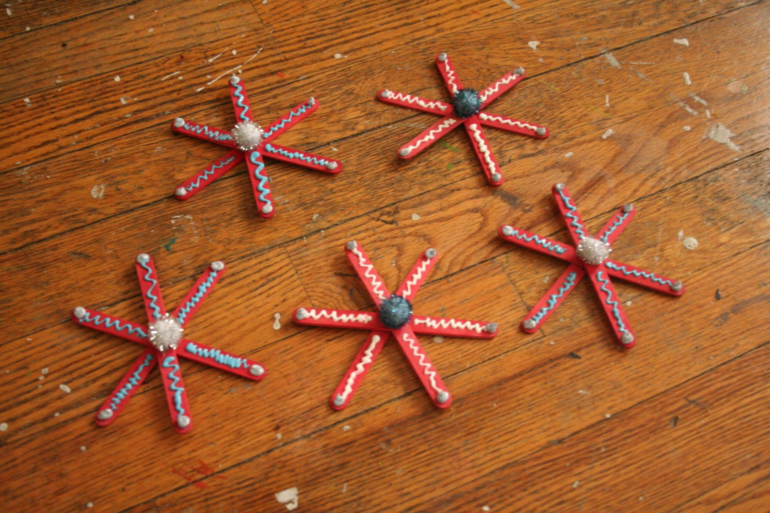 Decorate the Snowflakes