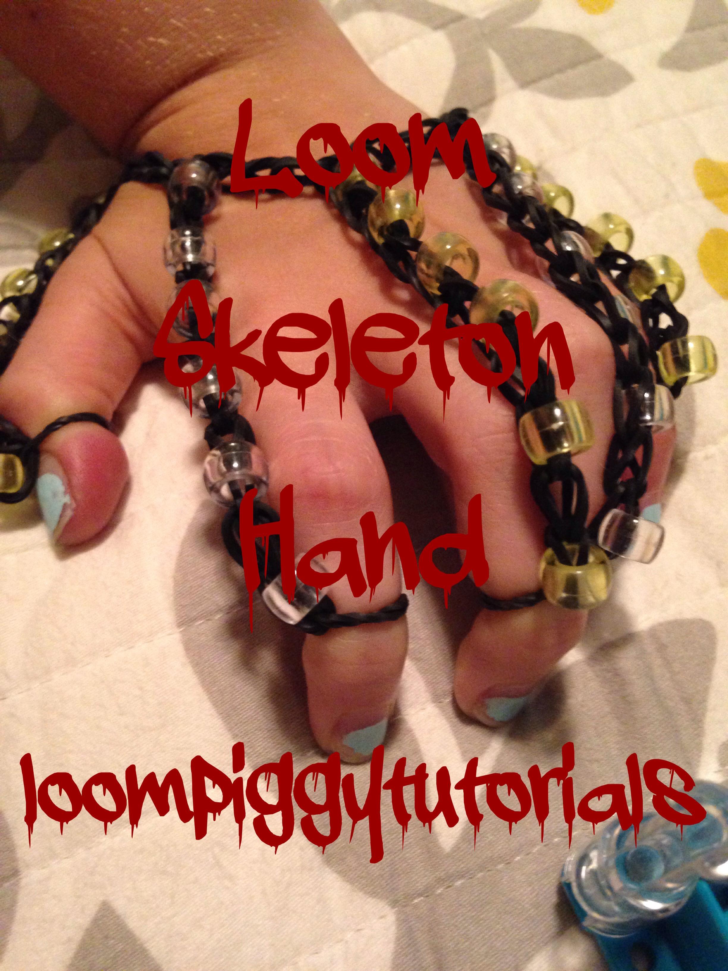Loom Skeleton Hand