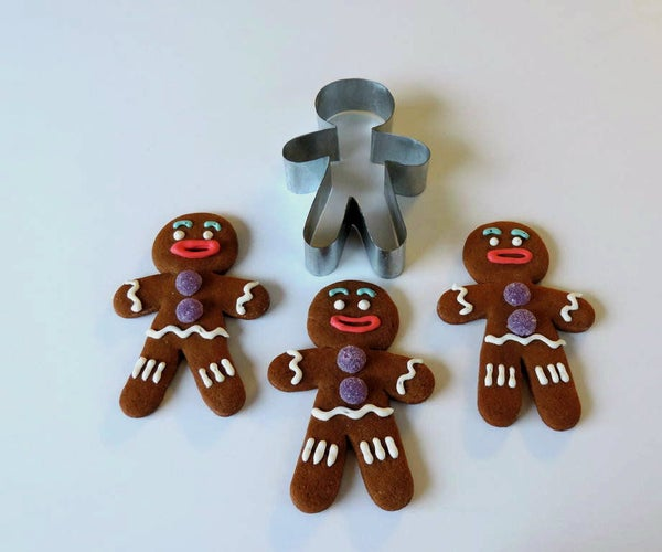 Make Your Own Gingy Cookie Cutter
