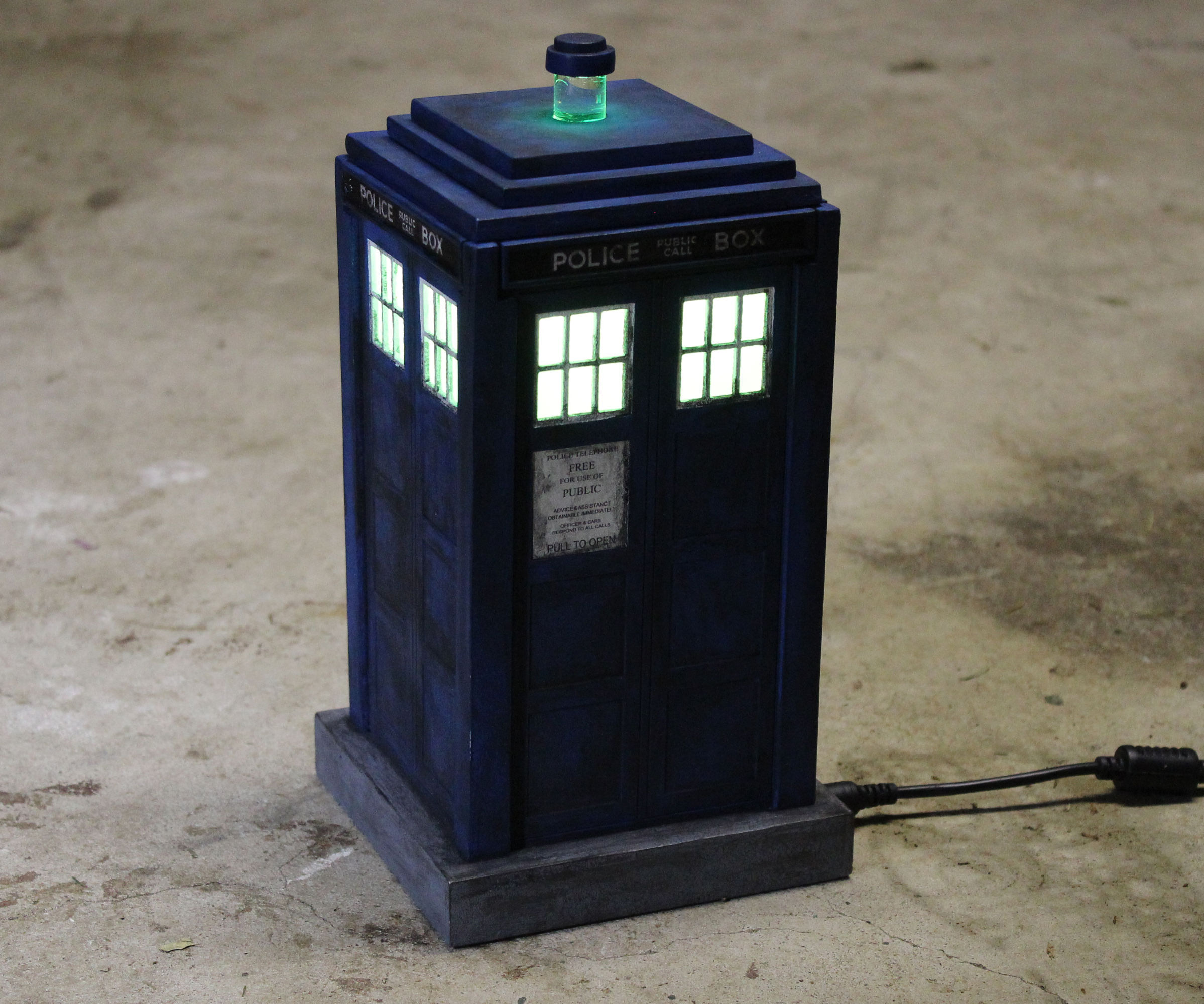 Tardis Puzzle Box Night Light