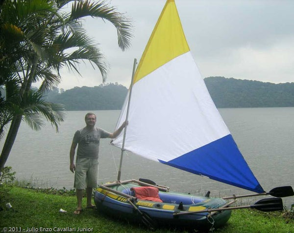 Inflatable Sailboat