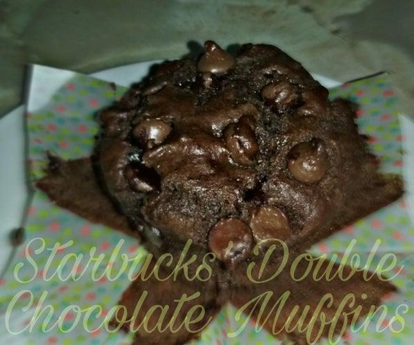 Starbucks Double Chocolate Chip Muffins