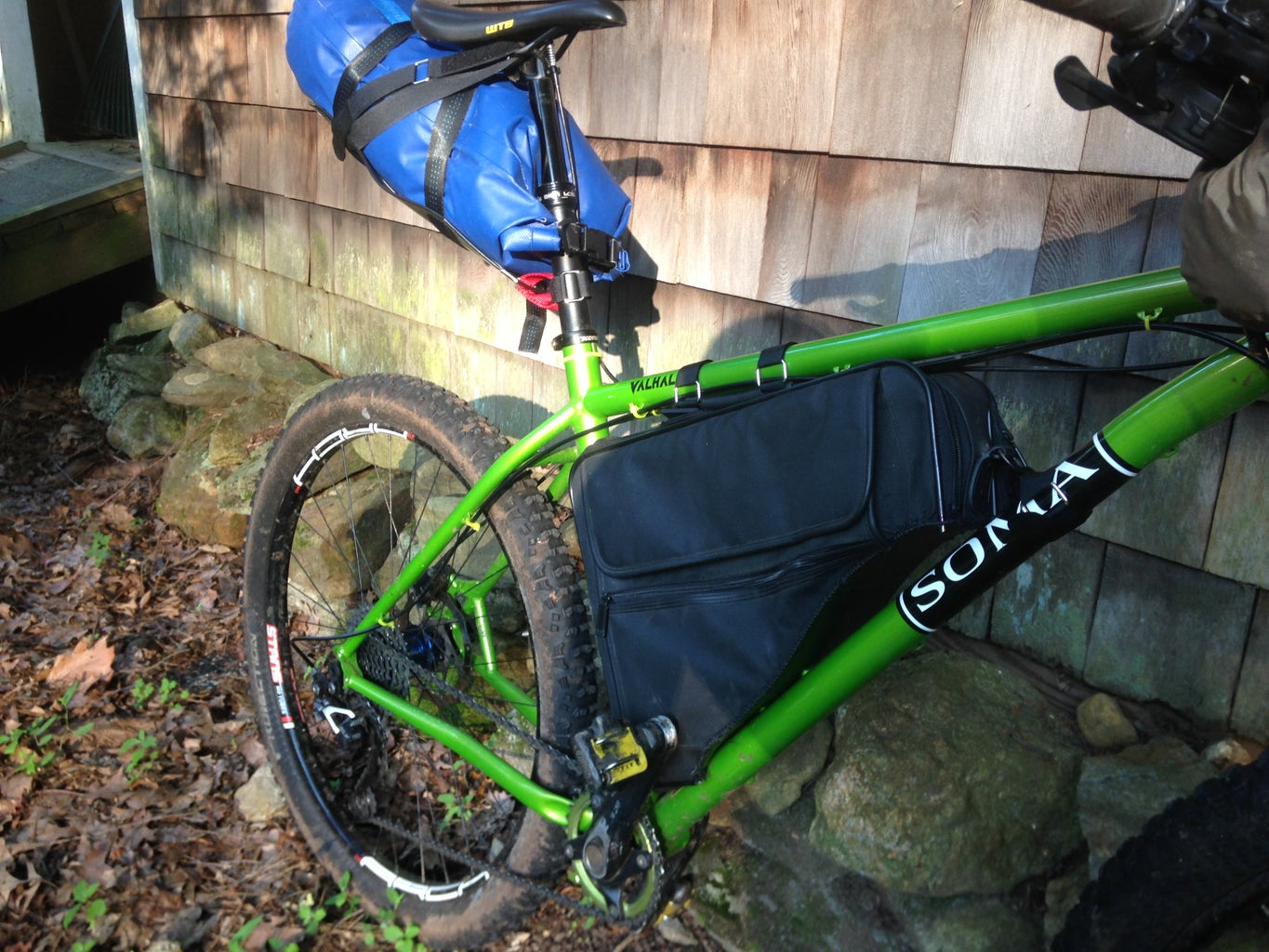 Outfitting the Bike With the Bags