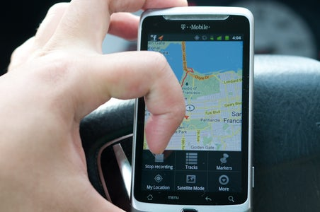 Stop the GPS Recording Session