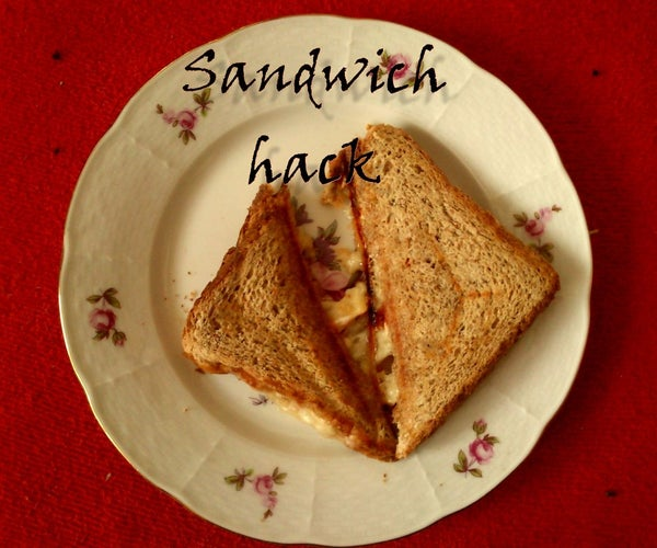 Sandwich Maker Hack - No More Cleaning!