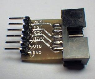 AVR ISP Breadboard Adapter