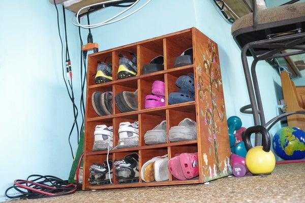The Shoe Keeper AKA Shoe Organizer /Clutter Reducer