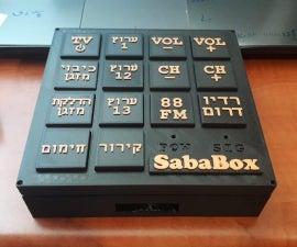 Sababox - Elderly Friendly Remote Control