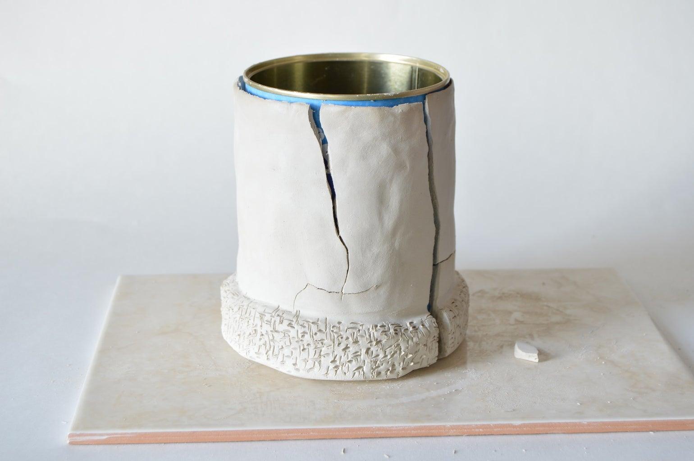 Air Dry Clay Cookie Jar