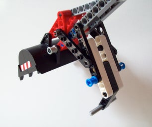 How to Create Custom Grapple for Lego 8294 Excavator