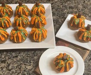 Sugar & Spice Pumpkin Mini Cakes