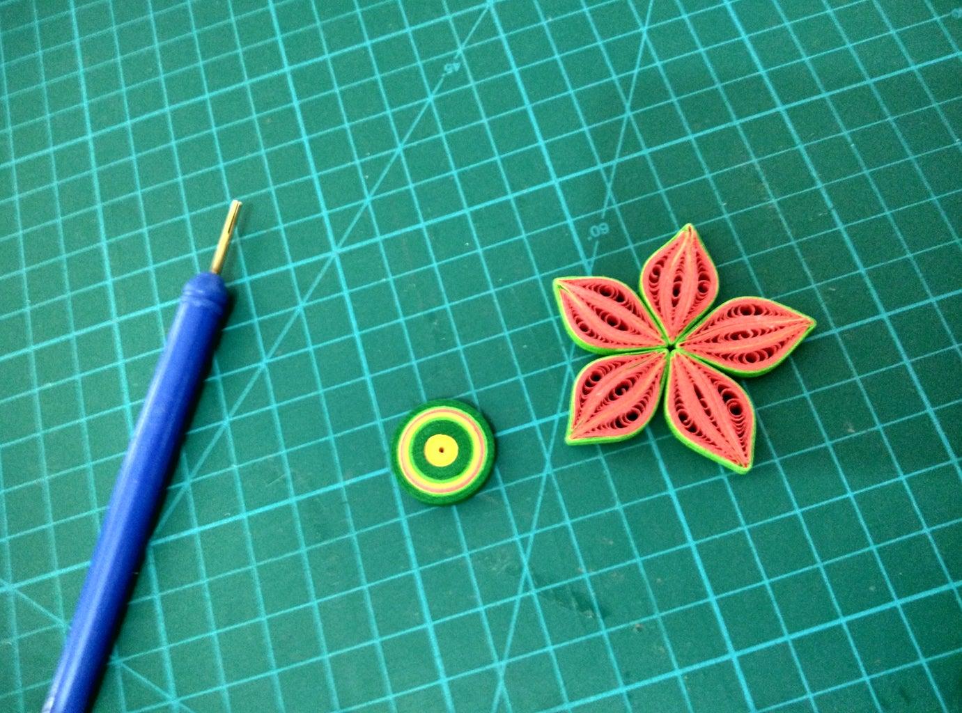 Preparation - 3D Flowers
