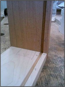 Making the Drawer Bottom Groove