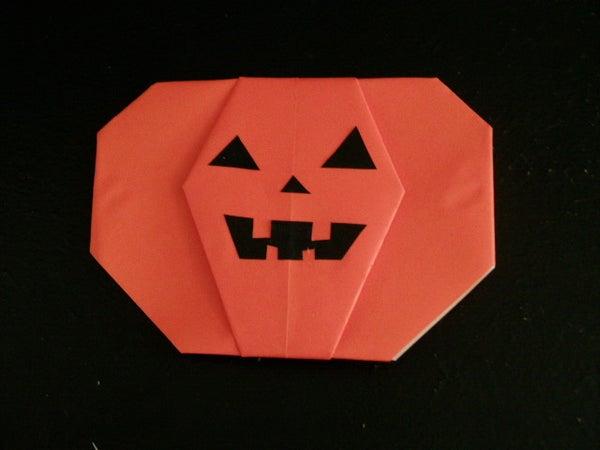 Origami Pumpkin