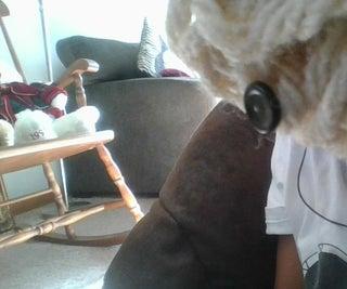 Finger Knitted Critter Ball