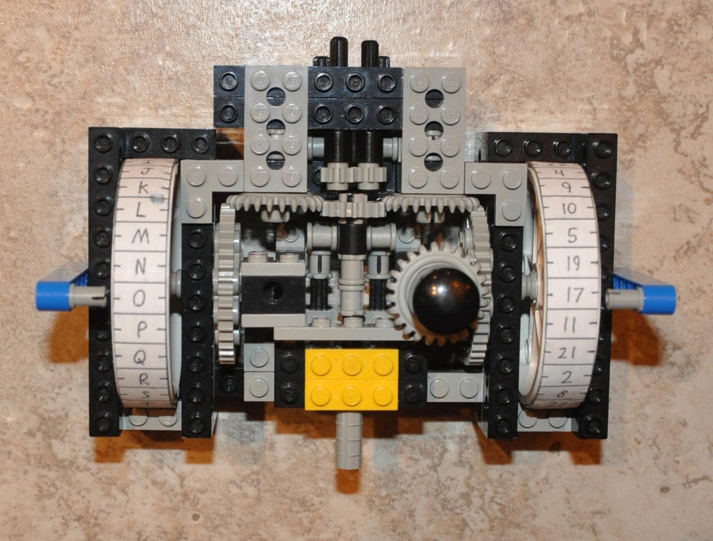 Poly-Alphabetic Cipher Machine