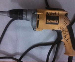 Dewalt Drywall Scrugun Repair