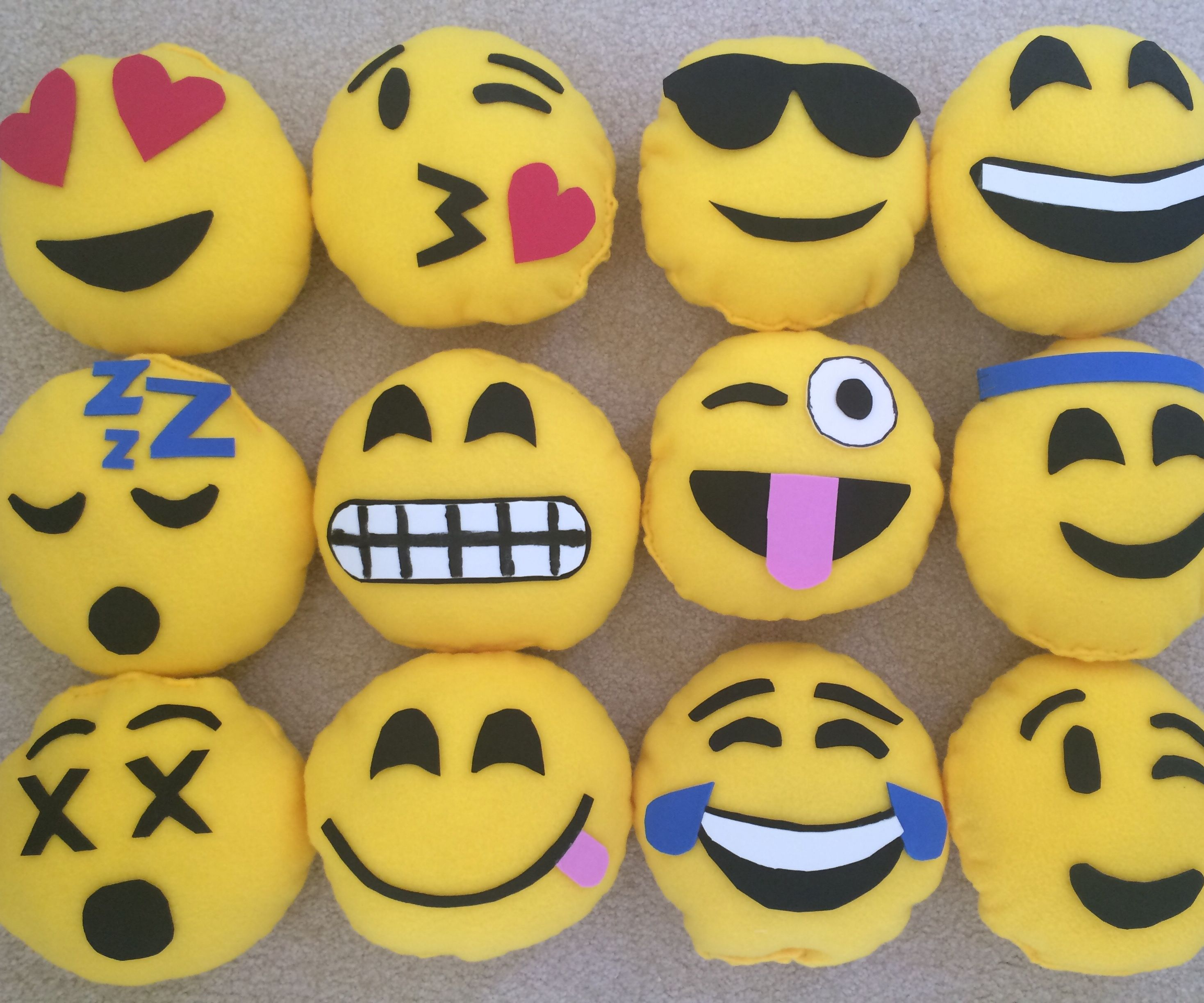 DIY Emoji Pillows